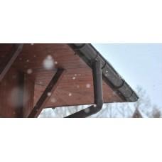 Захист водостоку взимку